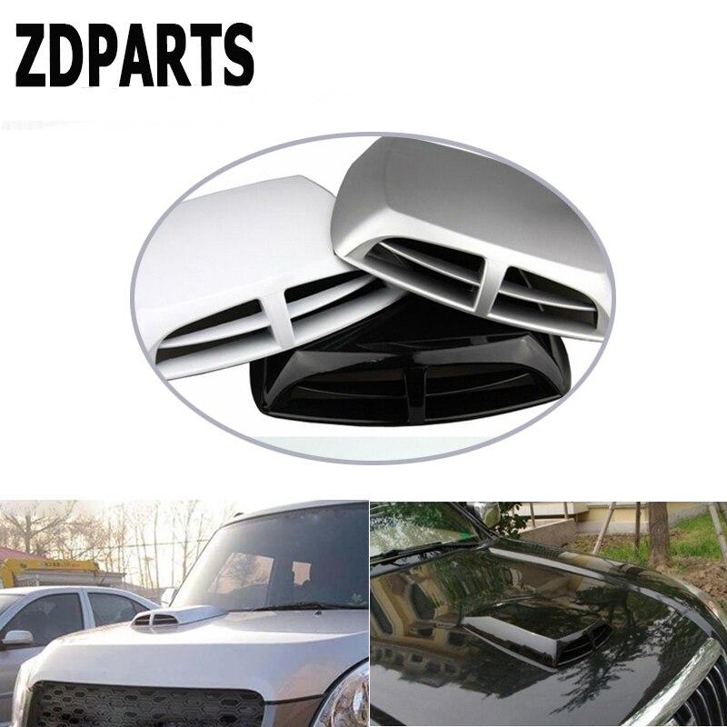 ZDPARTS coche cubierta delantera de motor cubierta embellecedora de rejilla de ventilación de la etiqueta engomada para Opel Astra J G Insignia Vectra c Peugeot 307, 206, 308, 407, 207, 3008