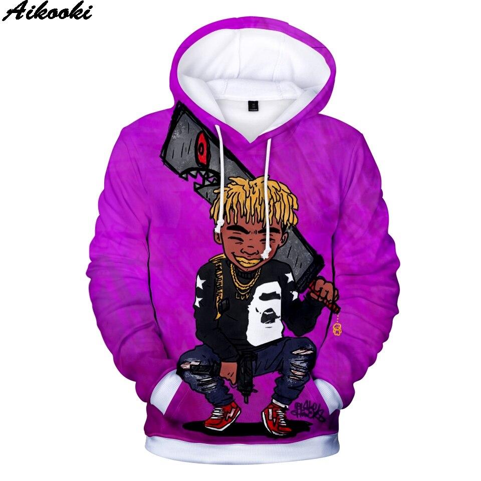 Hip Hop hombres LIL UZI VERT 3D Sudadera con capucha hombre/mujer Hip Hop divertida sudadera moda 3D Lil Uzi vert impresión sudaderas con capucha