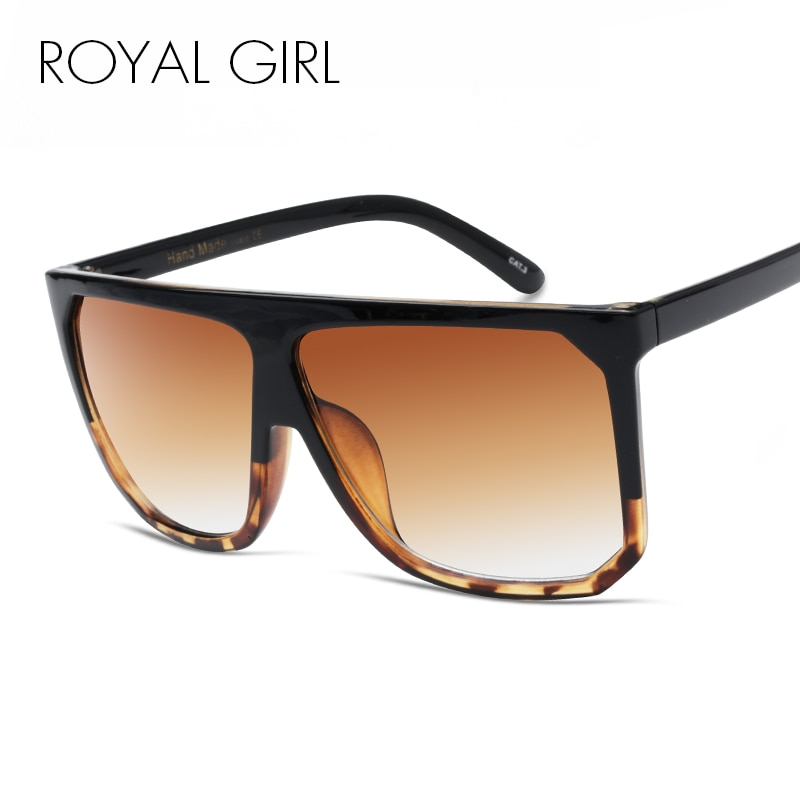 Солнцезащитные очки женские, винтажные, большие, с плоским берцем, ss568
