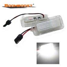 Pour F/ord Focus éclairage de plaque dimmatriculation LED T10 connecteur blanc Canbus 5D Fiesta Mondeo LED numéro lampe de plaque dimmatriculation