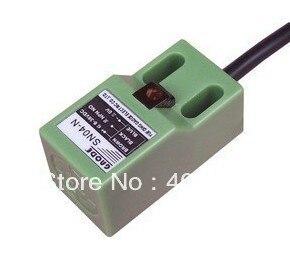Sensor de proximidad, distancia de detección de 5mm, SN04-N2 NPN, 3 hilos NC, interruptor de proximidad, a prueba de agua