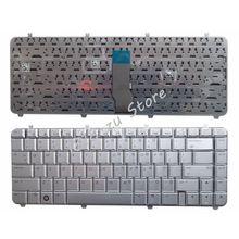 YALUZU английская клавиатура для ноутбука HP Pavilion DV5-1000 DV5-1100 DV5-1200 DV5-1218 1219 1218TX 1219TX AEQT6700210 QT6A Silver US