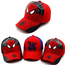 Neue Herbst Baby Junge Mädchen Hut Spiderman Stickerei Cartoon Baby Baumwolle Frühling Baseball Caps Kinder Hysterese Jungen Mädchen Hip Hop hüte