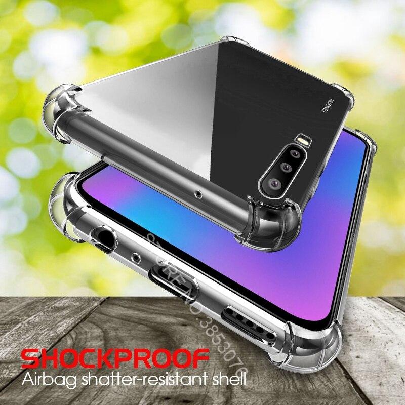 Estuches transparentes antigolpes para Huawei P30 P20 Lite P30 Pro, fundas blandas de Airbag de TPU para Huawei Mate 20 Mate 10 Pro Mate 20 10 Lite 20X