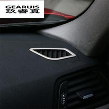 Cadre de couverture décoratif pour BMW   2 pièces, style de voiture, acier inoxydable, climatisation intérieure, pare-Vent, pour BMW série 3/4 GT F30 F31 F32