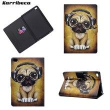 Mignon chien chat lapin aimant PU cuir étui pour ipad mini 1/2/3 mini4 tablette couverture hoesje coque kryt etui funda puzdra kilifi husa