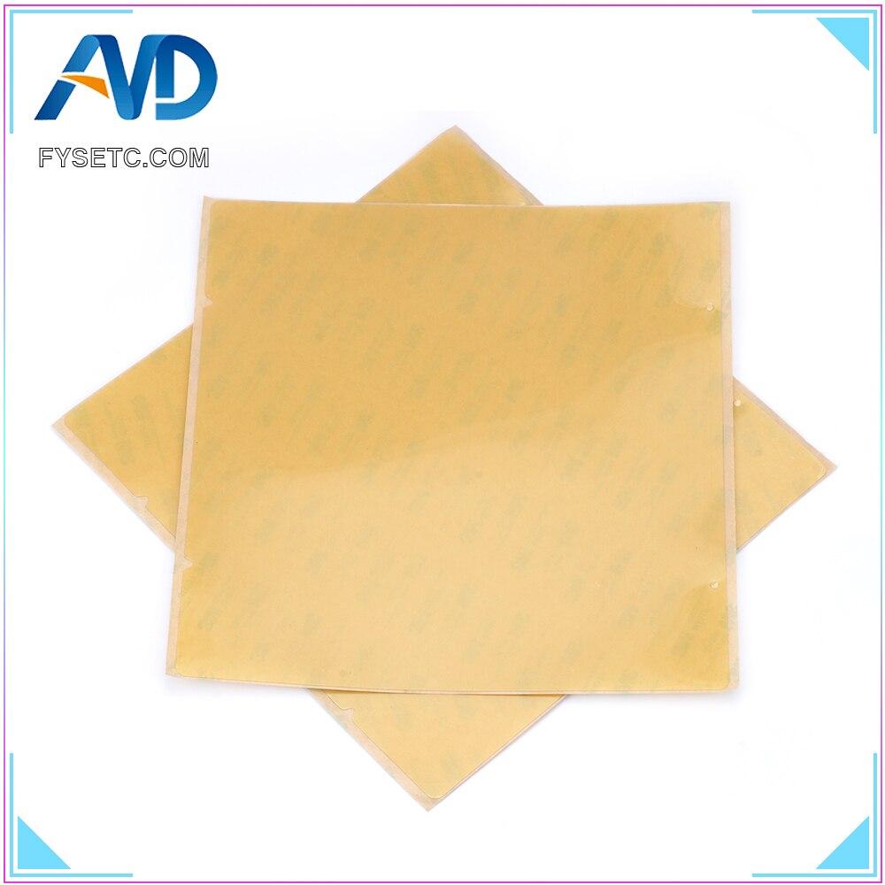 2pcs PEI Sheet Polyetherimid For Reprap Prusa i3 Mk3 Mk2.5 Spring Steel Sheet Heat Bed Platform 3D Printer Printing Buildplate
