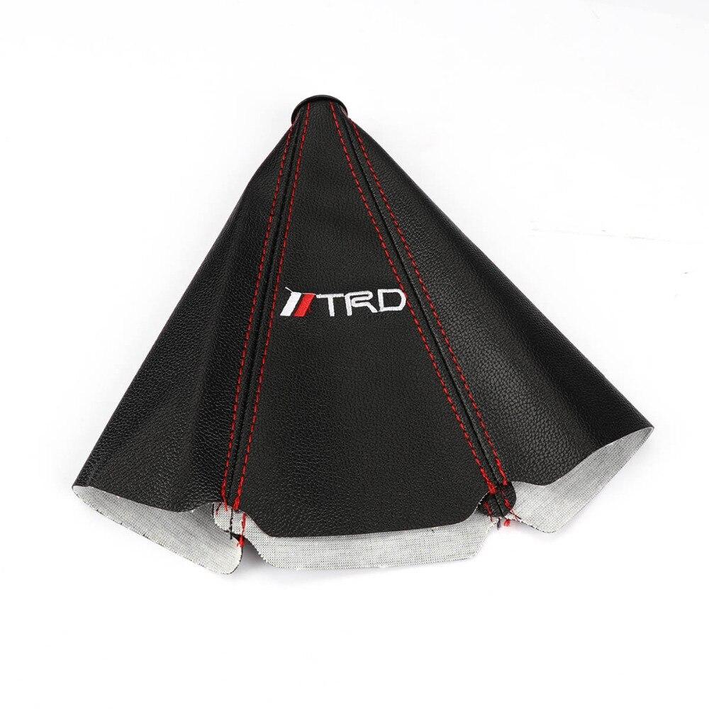 Универсальная ручка переключения передач TAIHONGYU для ботинок TRD подходит для Toyota JDM MT/AT