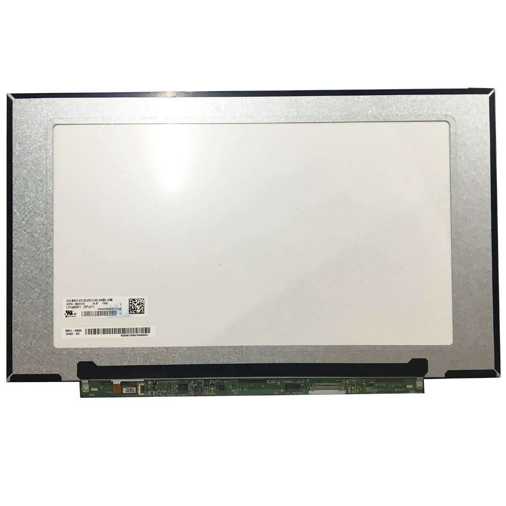 "Matriz para 14.0 ""Laptop Tela LED LCD Para LG LP140WF7-SPC1 LP140WF7 (SP) (C1) para Dell 096KVG FHD IPS Glossy LP140WF7 SPC1"