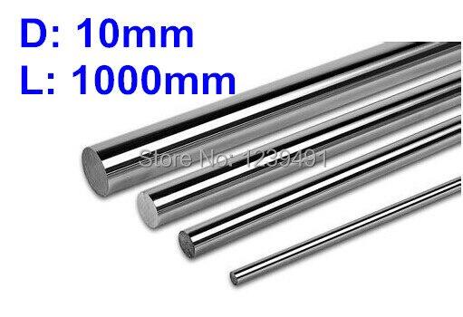 4pcs dia 10mm - 1000mm  Linear Rail Round Rod Shaft Linear Motion Shaft