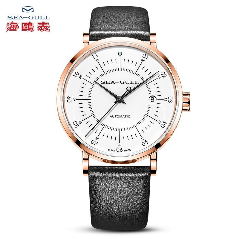 تايد-ساعة ميكانيكية أوتوماتيكية للرجال ، حزام مقاوم للماء بسيط ، سلسلة فنانين ، بوصلة Xinghai 819.17.6045