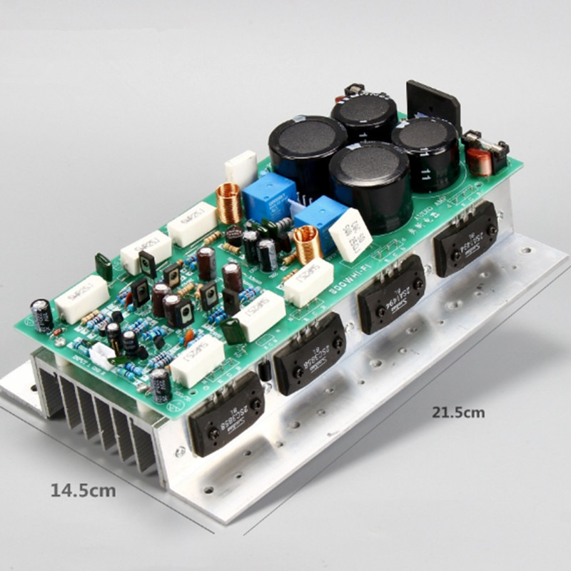 Nuevo doble AC24-36V 450W + 450W 2,0 canal estéreo de alta fidelidad Sanken tubo 3CS3858 2SA1494 trasera de alta potencia amplificador de audio de la Junta