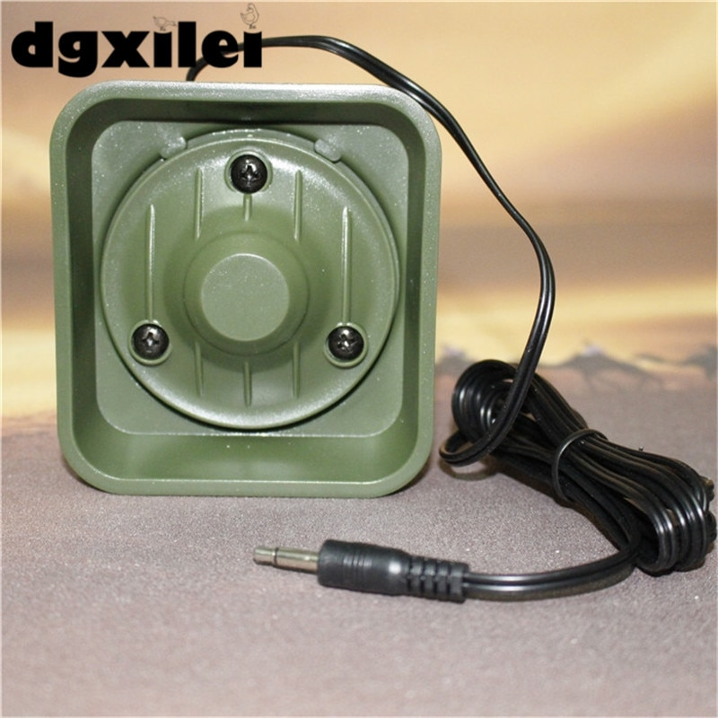 cheap bird call 50w 150dB quail sound waterproof portable mp3 speakers