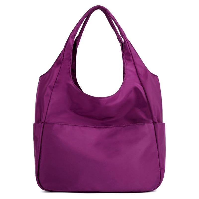 Women Shoulder Bag Black Nylon Waterproof High Quality Mother Casual Shopping Tote Ladies Bag Beach Female Crossbody Bag XA660WB
