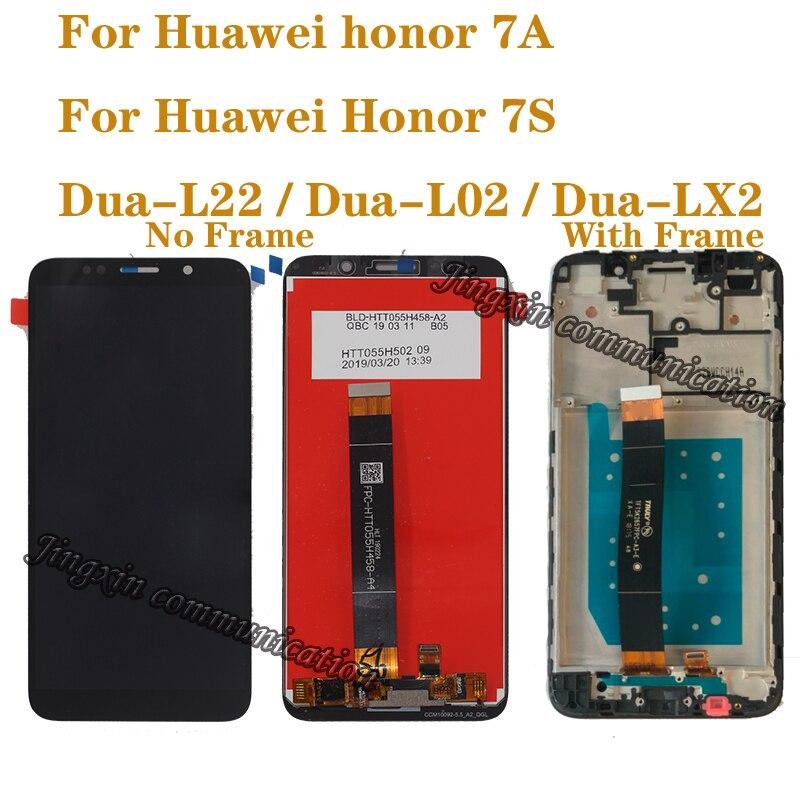 "5,45 ""Original LCD para Huawei Honor 7 Un dua-l22 DUA-LX2 pantalla LCD de montaje de digitalizador con pantalla táctil para Honor 7S LCD kit de reparación"