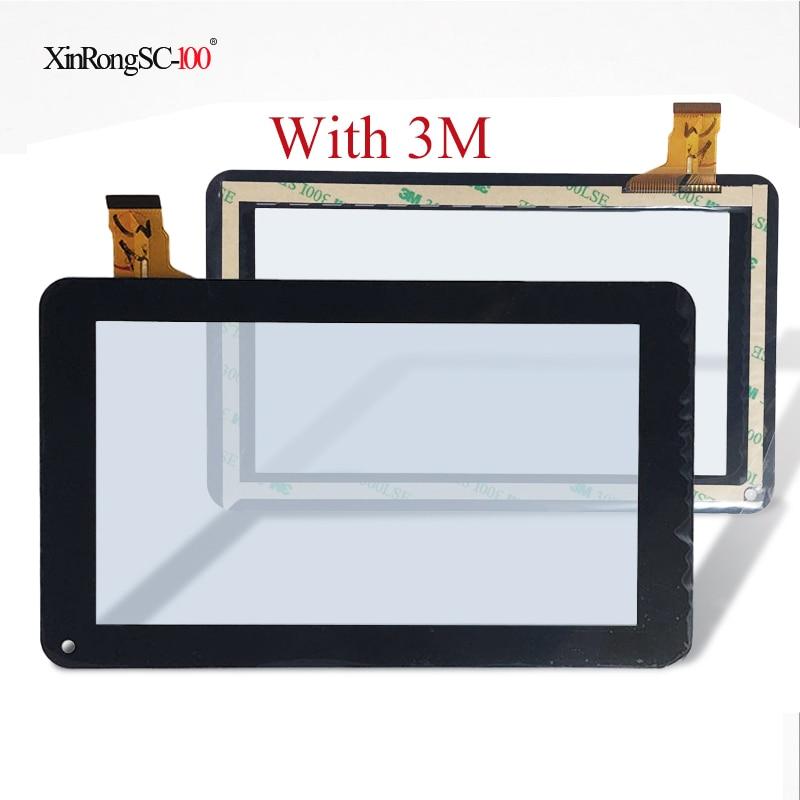 Para 7 pulgadas Woxter QX 78 QX78 Tablet Touch panel de cristal para pantalla digitalizador ZJ-70039E/TYF1039V8 WJHD/FPC-TP070129 (86VS)-00