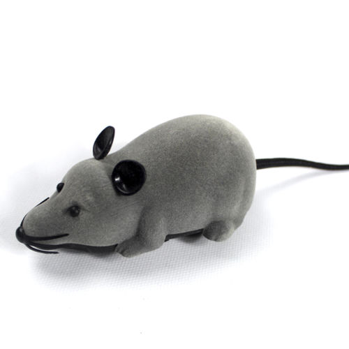 RC ratones rata electrónica diversión broma para fiestas juguete gris caliente Control remoto inalámbrico para gato cachorro regalo envío gratis