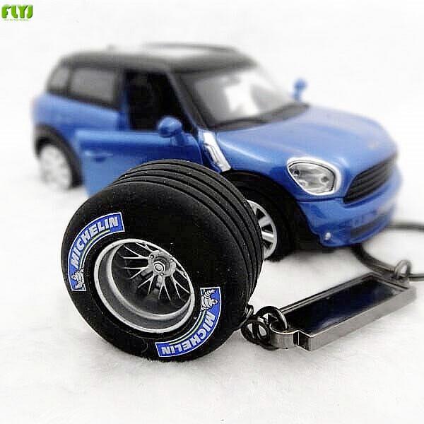 FLYJ автомобильный брелок для автомобильных шин opona pneumatyczna брелок для автомобильных шин турбо брелок для автомобиля Стайлинг для audi bmw e46 TRD sline