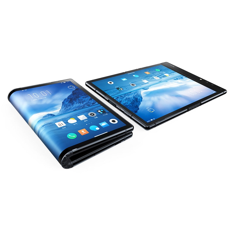 Фото1 - Оригинальный складной телефон Royole FlexPai, гибкий AMOLED экран 7,8 дюйма, 6 ГБ + 128 ГБ, Восьмиядерный Snapdragon 855, 3970 мАч смартфон