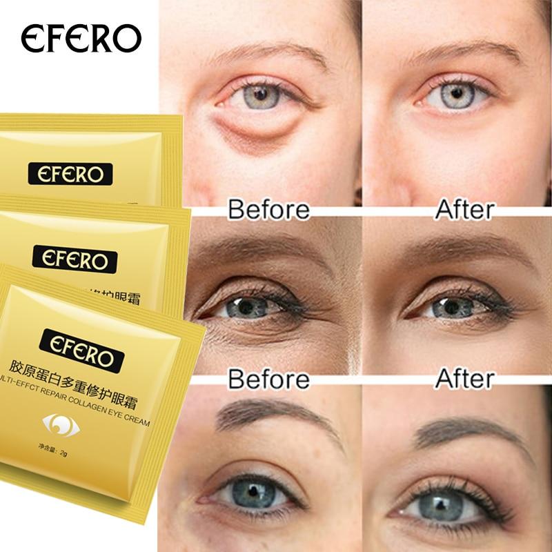 15pcs Multi-Effect Repair Collagen Eye Cream Essence Anti Wrinkle Remove Dark Circles Eye Lift Serum Face Care