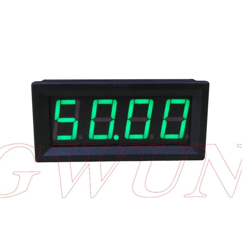 GWUNW BY456A 0-5000a (50A) 4-разрядный Амперметр измеритель тока панель 0,56 дюйма LED