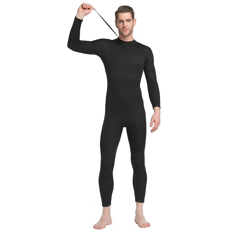 Sdart 2019 hombre 1,5mm traje de baño de material grueso invierno Siamés impermeable madre caliente traje de baño masculino traje de baño