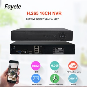 CCTV Security HD IP 1080P 4MP 5MP 16CH NVR SATA Port 3G WIFI Surveillance Video Recorder Onvif P2P Mobiel View XMeye HDMI VGA