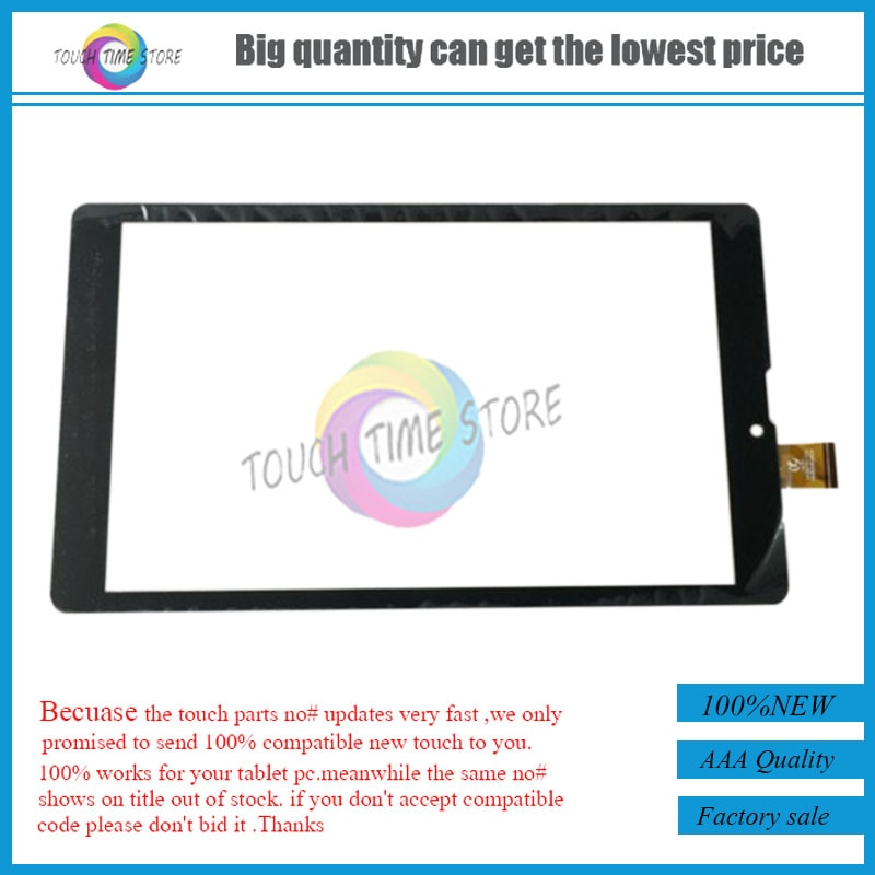 Nueva pantalla táctil para Prestigio MultiPad Wize 3108 3G (PMT3108_3G) Tablet Digitalizador de Panel táctil Sensor de vidrio envío gratis