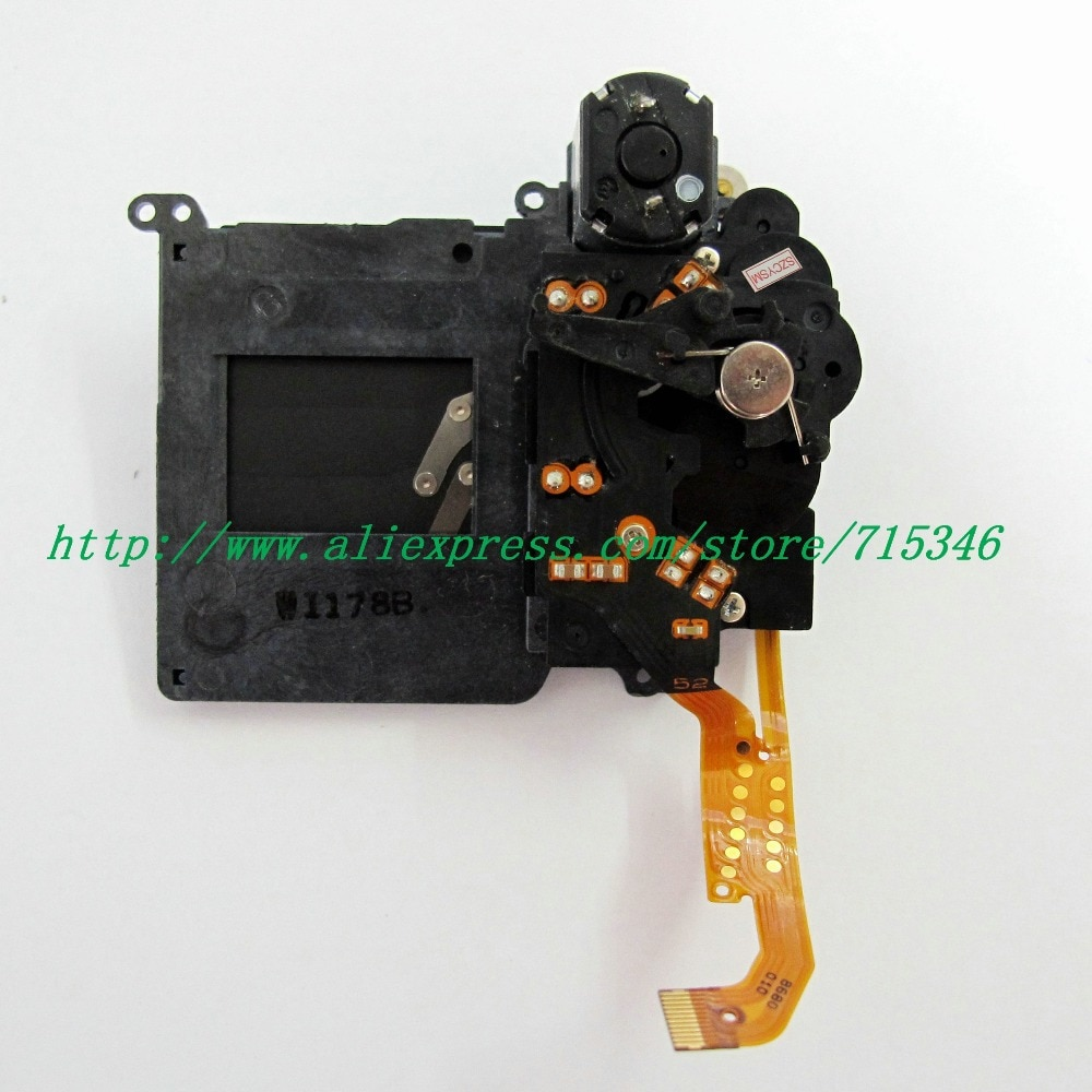 Grupo de montagem do obturador para canon eos 600d rebel t3i/eos beijo X5 1000D Rebel XS/Beijo F Digital Camera Repair parte