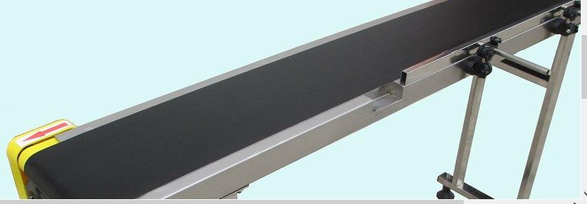 Small Belt Conveyor Band Carrier PVC Line Sorting Conveyor for Bottles/ Food Customized Moving Belt, Rotating Table SGZ-SSJA8D enlarge