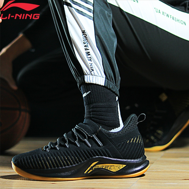 (Break Code)Li-Ning Men SPEED V PLAYOFF Basketball Shoes Frank Mason Cushion LiNing li ning CLOUD Sport Shoes ABAP011 XYL223