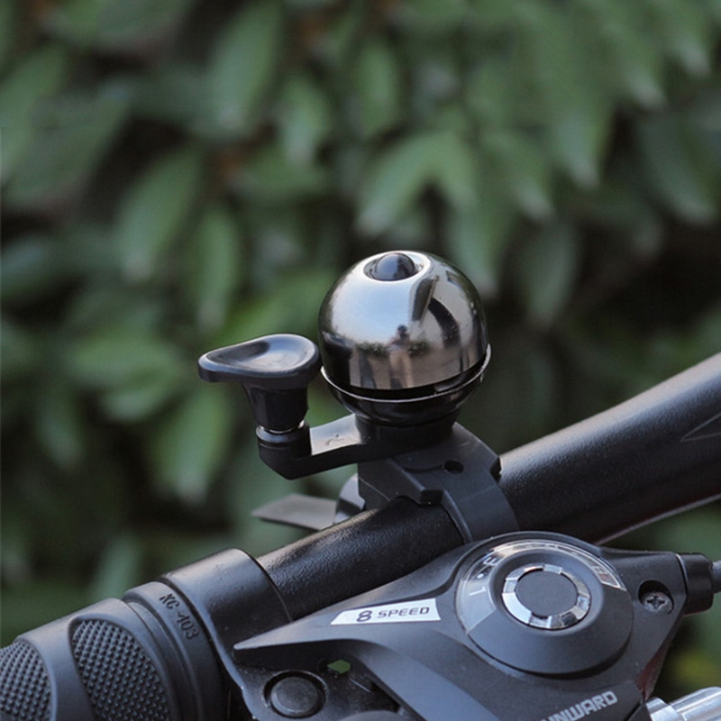 Timbre clásico Retro de cobre puro para manillar de bicicleta, con sonido fuerte, para bicicletas de niños, claxon para moto, alarma de seguridad, RR7049