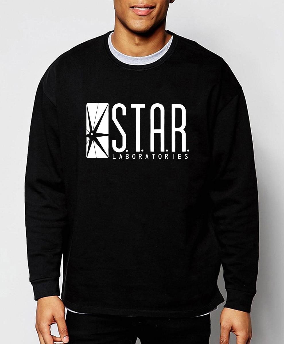 Superman Series STAR 2019 hot sale spring winter fashion S.T.A.R.labs men hoodies sweatshirt harajuku tracksuit cool streetwear