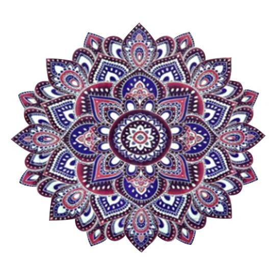 203*153cm Mandala indio tapiz mandrágora impresión Floral octagonal flores playa Toallas Yoga Mat bloque solar Bikini redondo