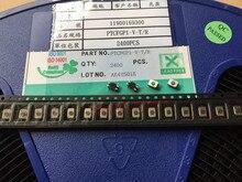 Taiwan Yuanda PTCFGP1-V-T/R bouton tactile bouton automobile SMD 5 broches avec colonne de fixation