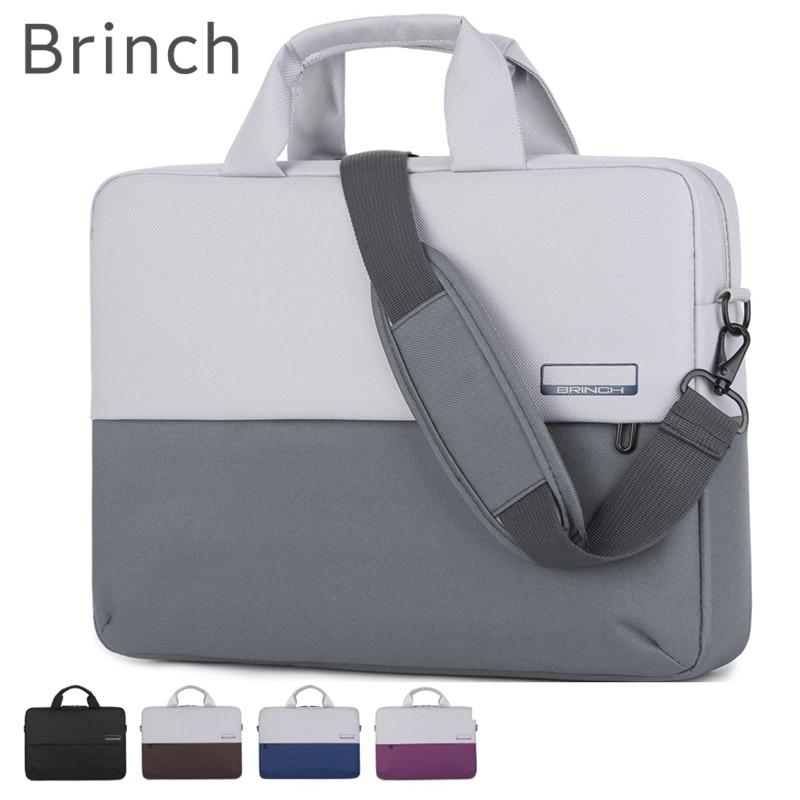 Brinch العلامة التجارية حقيبة كمبيوتر محمول 13,14 ، 15,15.6 بوصة ، رسول حقيبة يد الحال بالنسبة لماك بوك اير برو 13.3 ، 15.4 الكمبيوتر المحمول دروبشيب 217