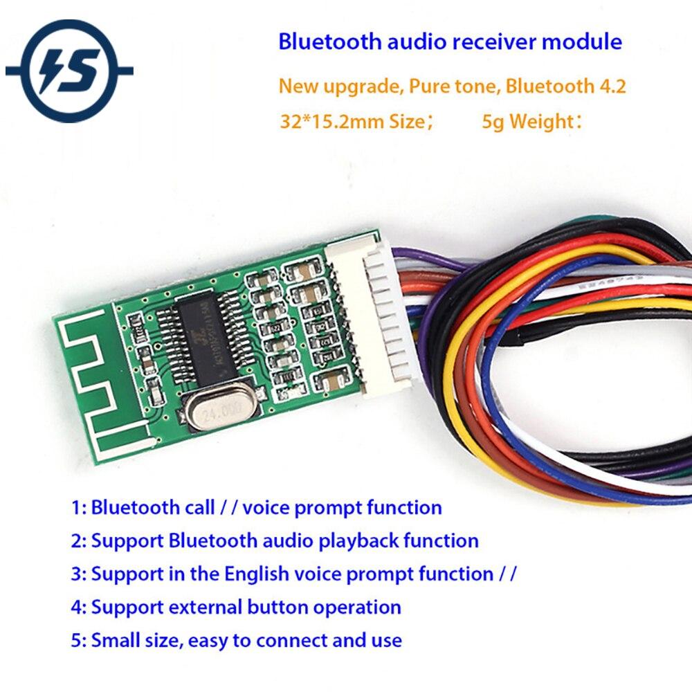 KCX_BT002 Bluetooth аудио приемник модуль без потерь 4,2 Беспроводная аудио IC плата MP3 декодирование MP3 модуль