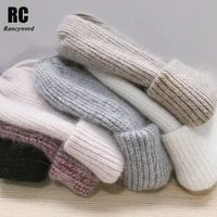 rancyword womens hats autumn winter knitted wool beanies hat 2020 new arrival casual cap good quality female hat hot rc1232 1