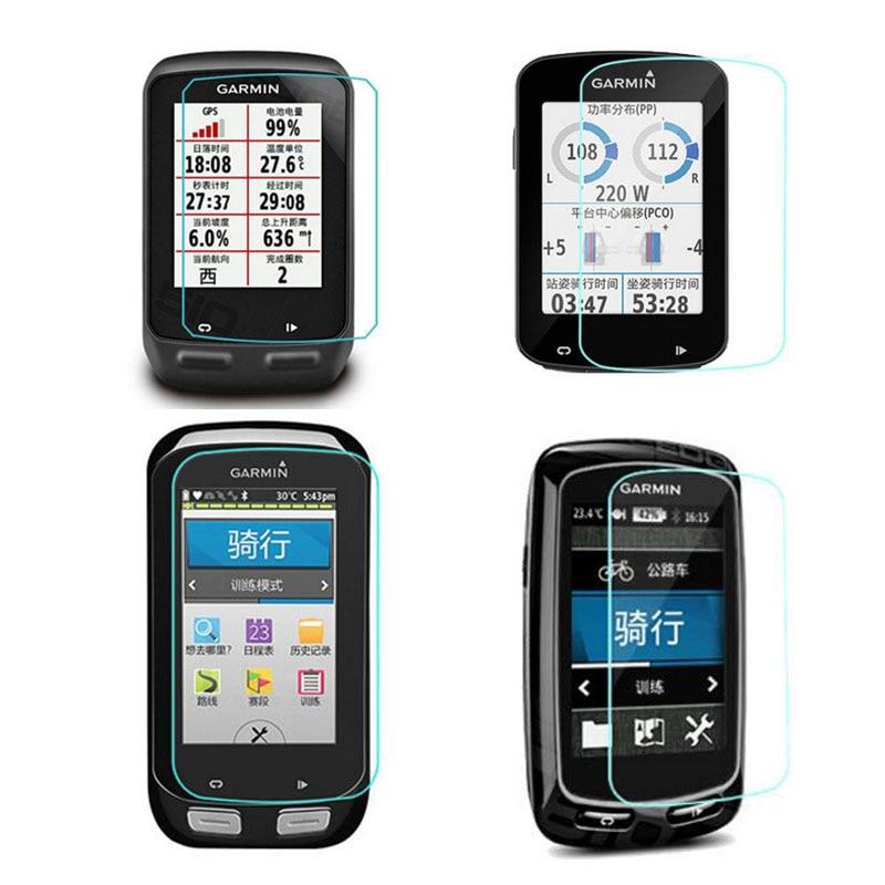 Película protectora de vidrio templado para Garmin edge 510/520/820/530/830/1000/1030/130/, reloj GPS, funda protectora de pantalla para ordenador