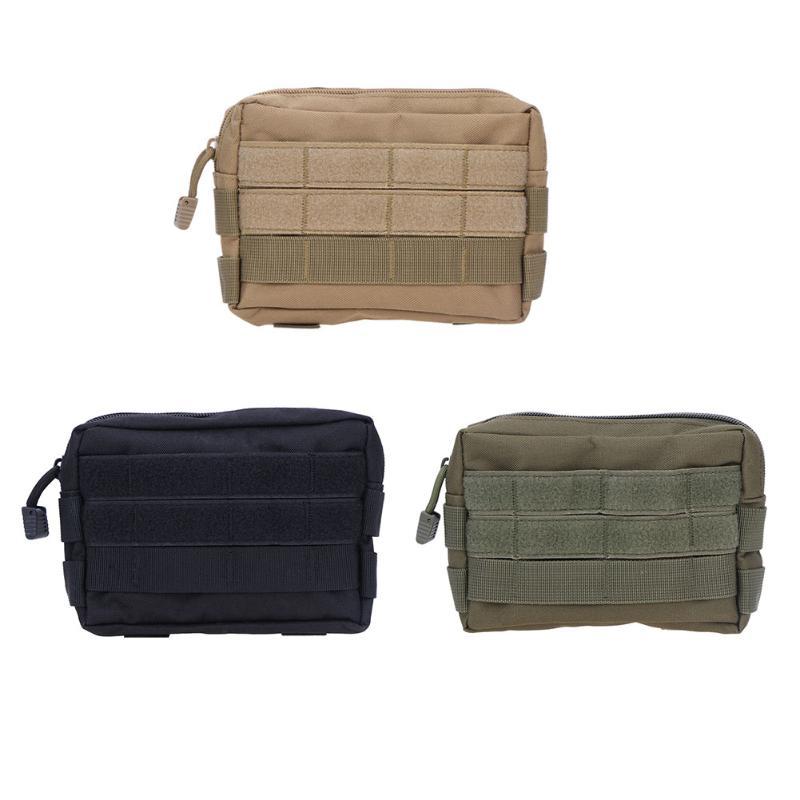 Funda táctica Molle Sub-paquete, fundas de caza, cinturón, riñonera, paquete de Fanny militar, bolsas para exterior, funda de teléfono, bolsillo