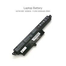 "11.25V  2200mAh A31N1302  Laptop Battery for ASUS  VivoBook X200CA F200CA X200M X200MA F200CA K200MA 11.6"" K200MA-DS01T"