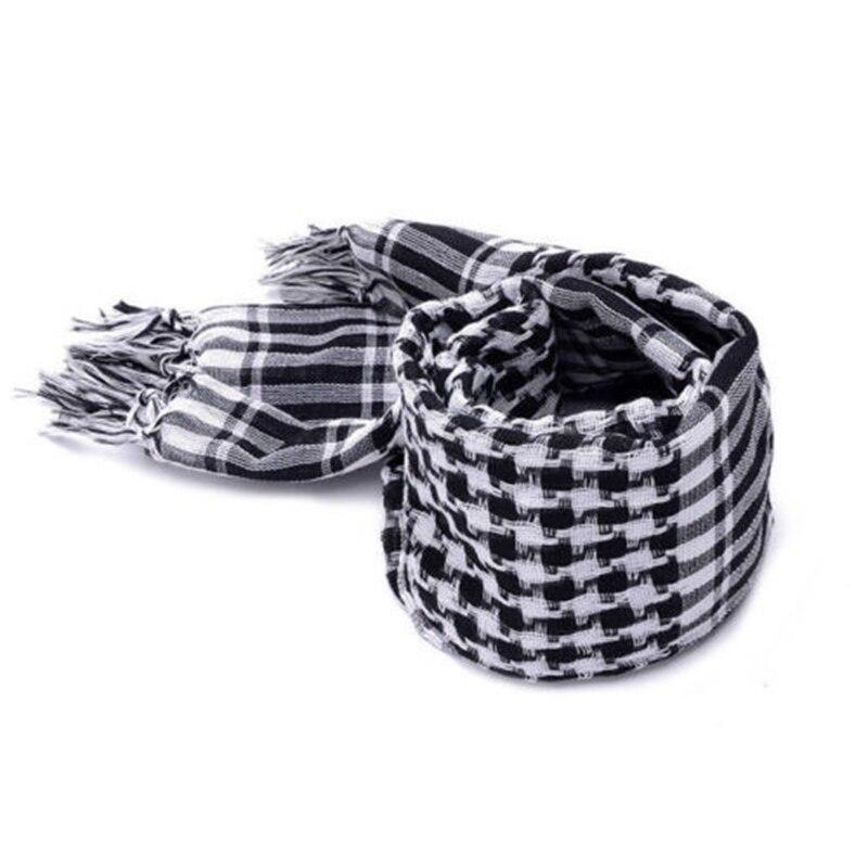 Арафат шарф в арабском стиле шаль Keffiyeh Kafiya легкий военный шаль