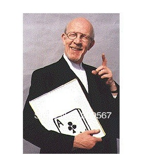 Cardiographic,Exclusive Rise Card Prediction 390*260MM - Card Magic Trick,Mentalism,Stage Magic Props,Fun,Illusion