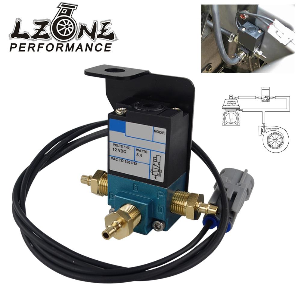 LZONE - Electronic Turbo Boost Control Solenoid Valve With Plug For 07+ Mitsubishi Evo X JR-ECU04