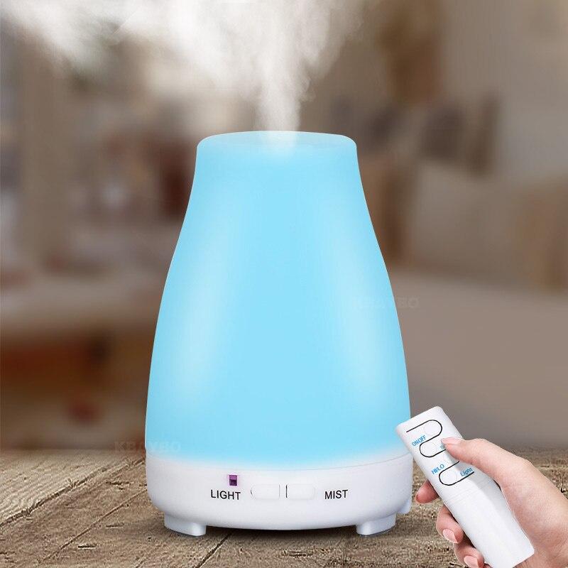 Difusor de Aroma eléctrico de 200ml, humidificador de aire, difusor de aceites esenciales, vaporizador de aromaterapia Maker con Control remoto