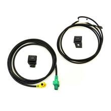 READXT interrupteur adaptateur USB RCD510 RNS315   Entrée de voiture, Audio AUX, câble de connecteur usb aux, pour Passat B6 B7 cc eos Golf 6 MK6 Polo