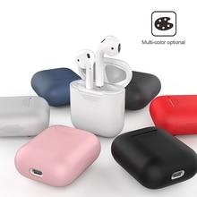 Pour AirPods étui de protection étui en silicone antichoc oreille pods étui pour Air pod i12 tws étui chargeur casque accessoire