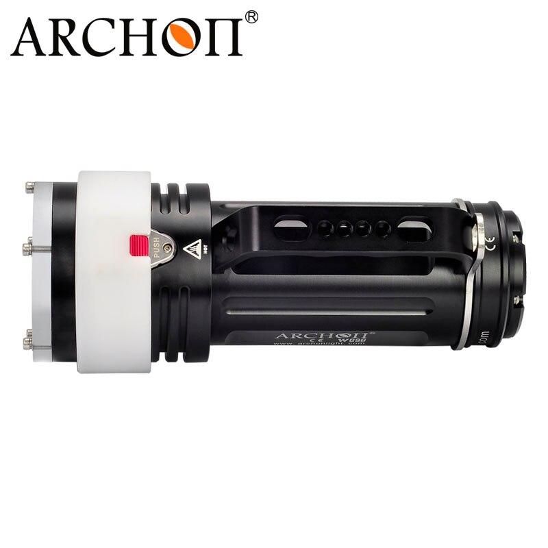 ARCHON DG60 WG66 Goodman Handle Diving Light XM-L2 LED 5000lm Rechargeable Li- ion Battery Pack technical Scuba Dive Torch enlarge