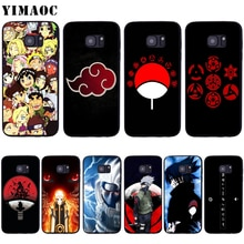 Yimaoc Naruto Kakashi Sasuke Soft Silicone Case Voor Samsung Galaxy S6 S7 Rand S8 S9 Plus A3 A5 A6 Note 8 9
