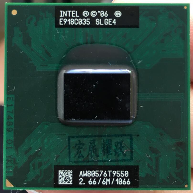 Процессор Intel Core 2 Duo T9550 процессор для ноутбука PGA 478 процессор 100% работает должным образом